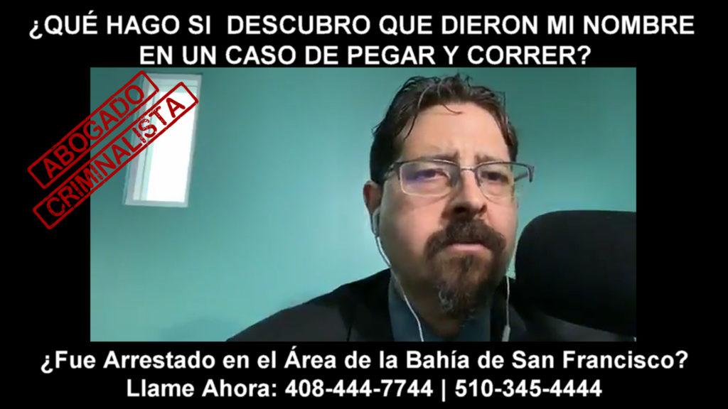 CASO DE PEGAR Y CORRER