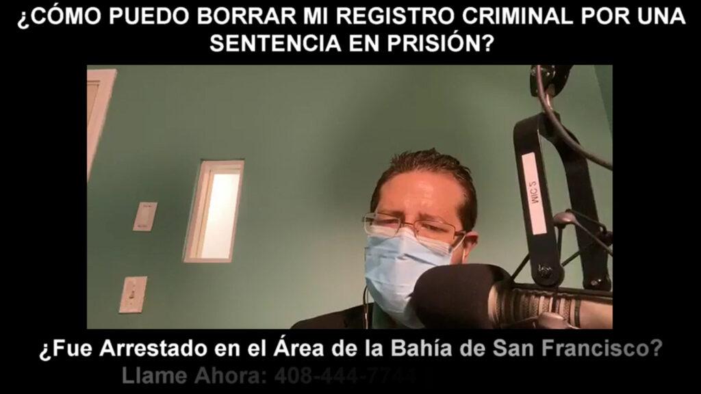 BORRAR MI REGISTRO CRIMINAL POR UNA SENTENCIA EN PRISIÓN