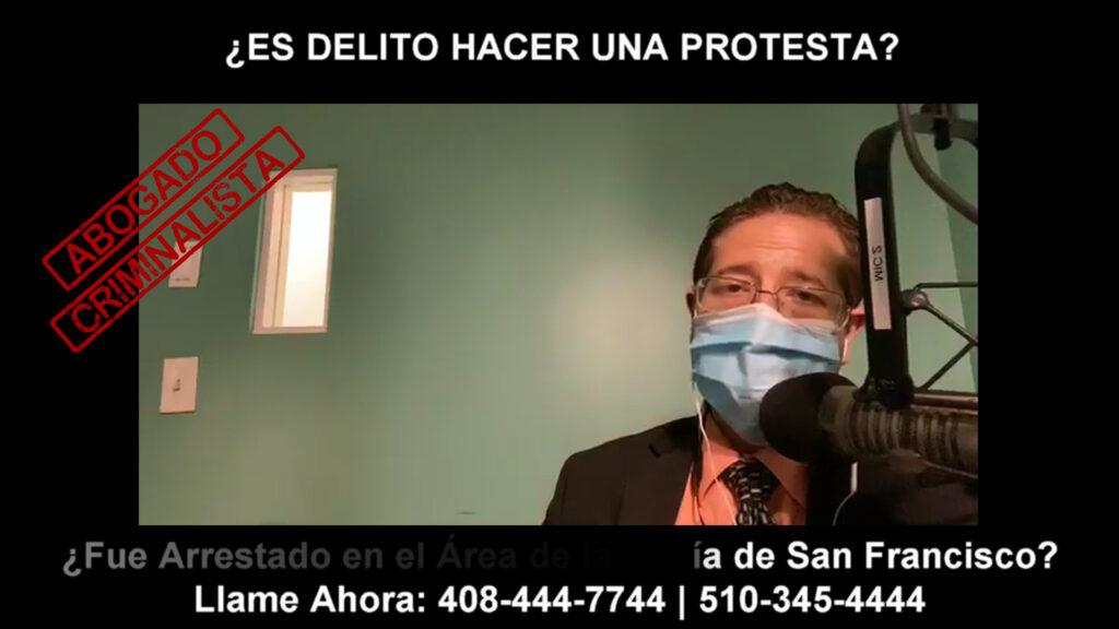 DELITO HACER UNA PROTESTA