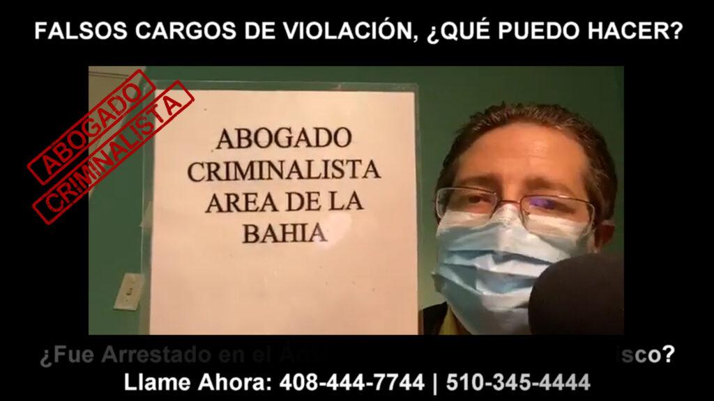 FALSOS CARGOS DE VIOLACIÓN