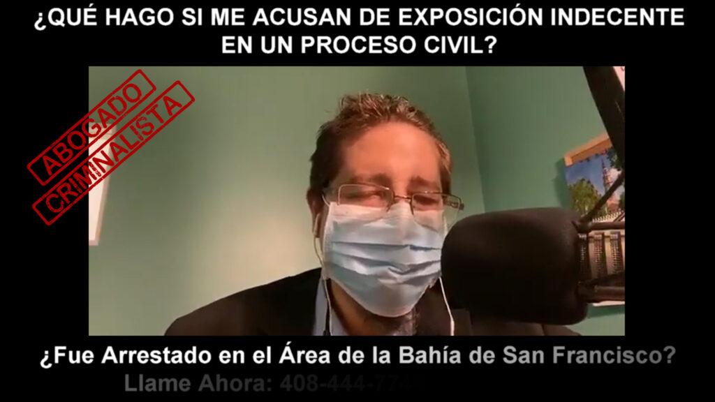 ME ACUSAN DE EXPOSICIÓN INDECENTE