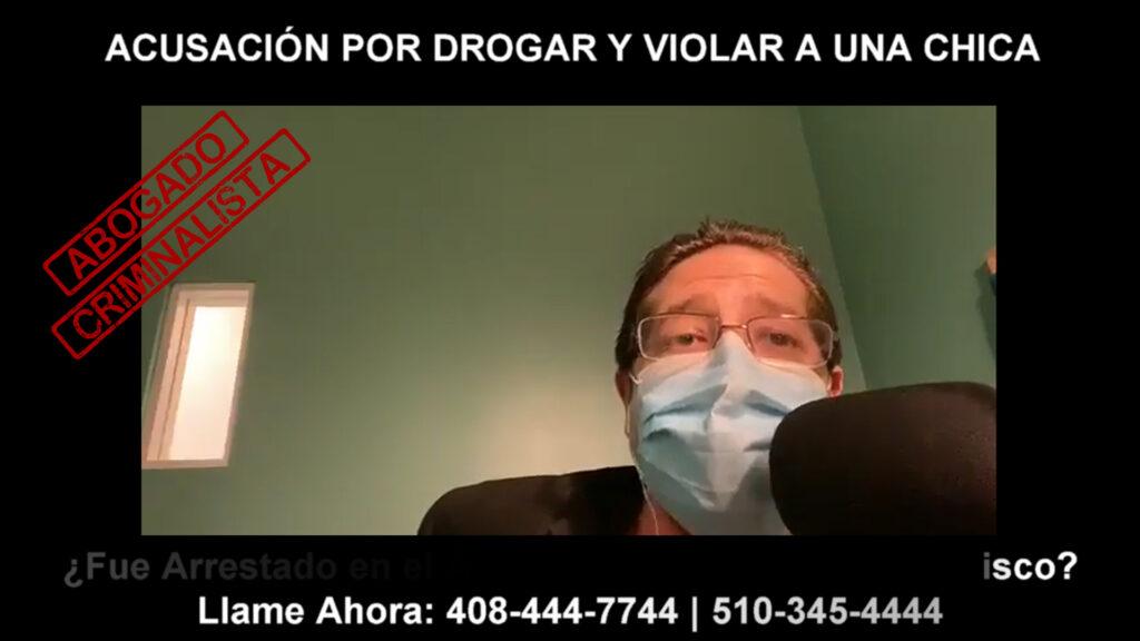 ACUSACIÓN POR DROGAR Y VIOLAR A UNA CHICA