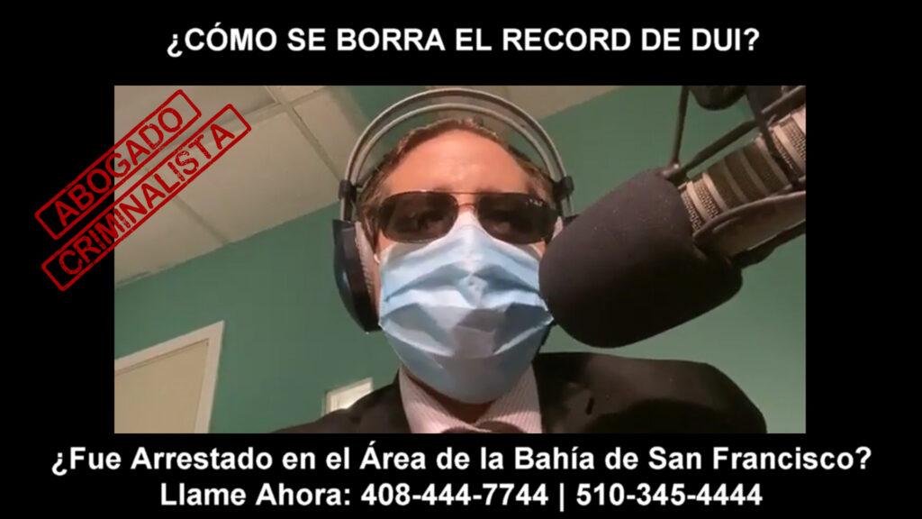 BORRA EL RECORD DE DUI