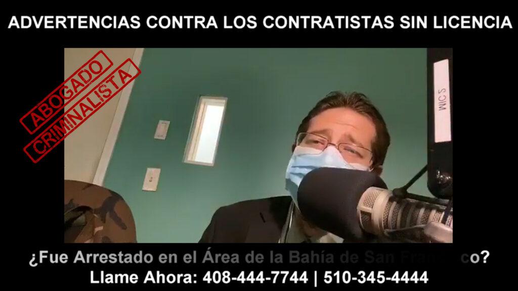 ADVERTENCIAS CONTRA LOS CONTRATISTAS SIN LICENCIA