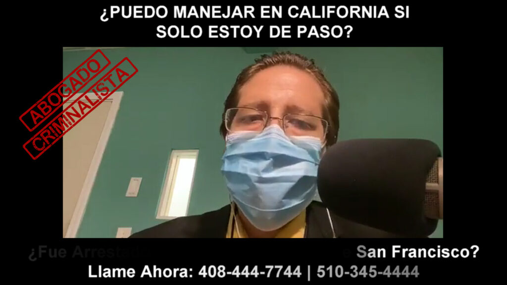 MANEJAR EN CALIFORNIA