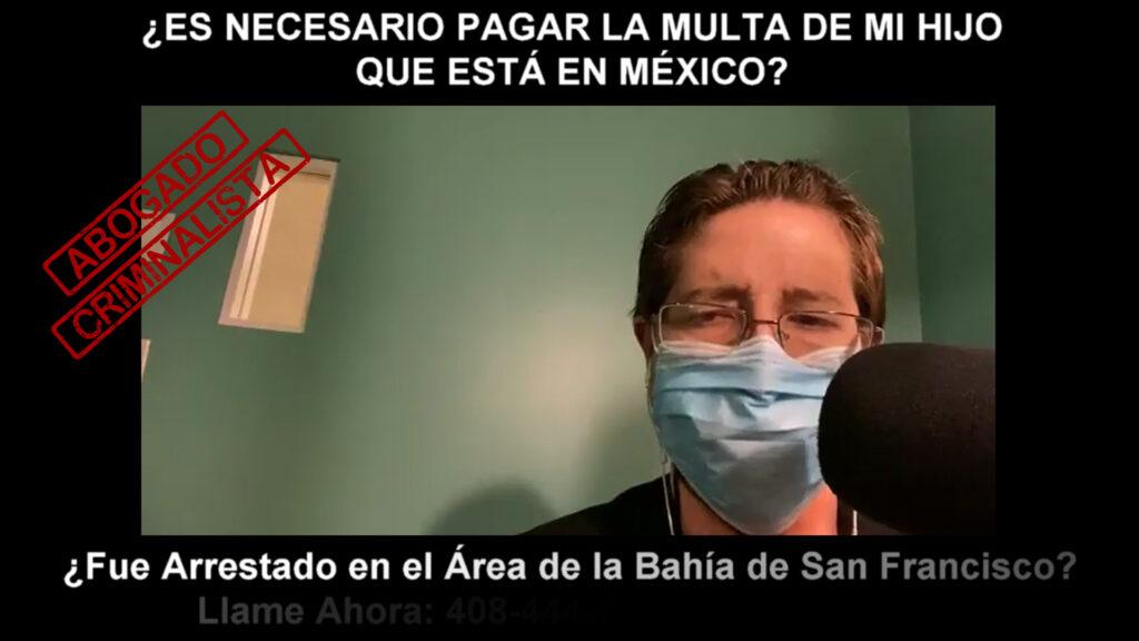 PAGAR LA MULTA DE MI HIJO QUE ESTÁ EN MÉXICO