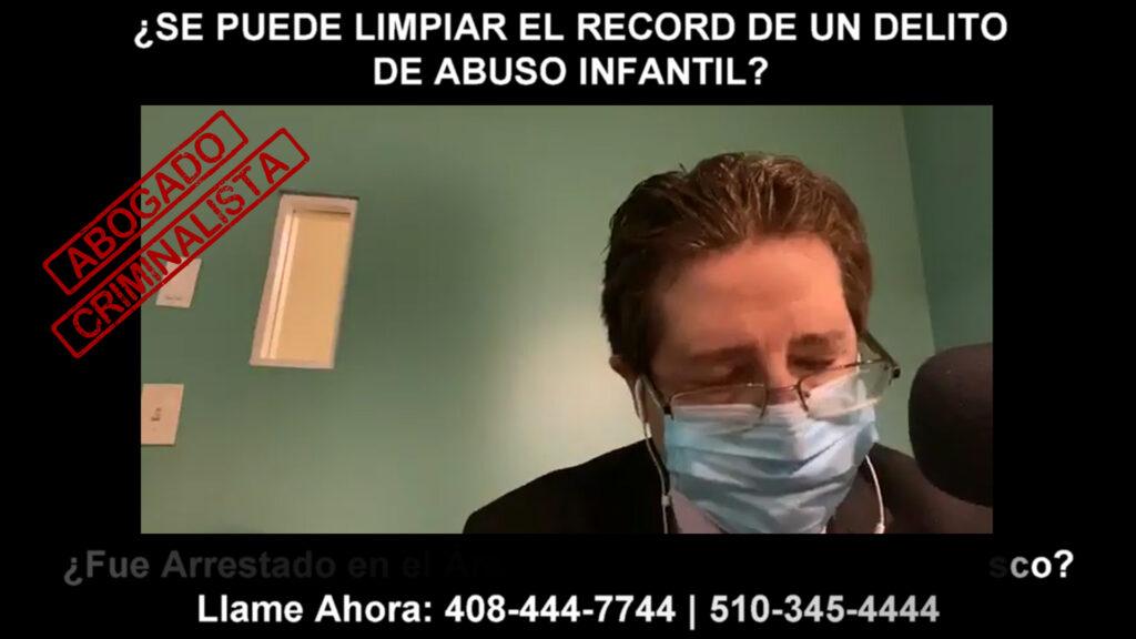LIMPIAR EL RECORD DE UN DELITO DE ABUSO INFANTIL