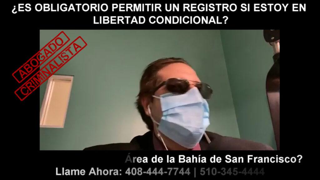 OBLIGATORIO PERMITIR UN REGISTRO SI ESTOY EN LIBERTAD CONDICIONAL