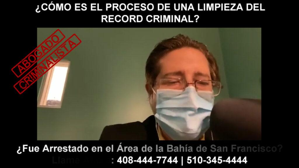 PROCESO DE UNA LIMPIEZA DEL RECORD CRIMINAL