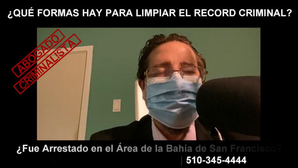 FORMAS HAY PARA LIMPIAR EL RECORD CRIMINAL