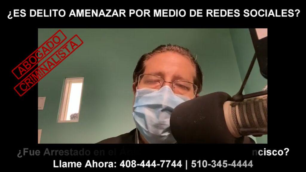 AMENAZAR POR MEDIO DE REDES SOCIALES