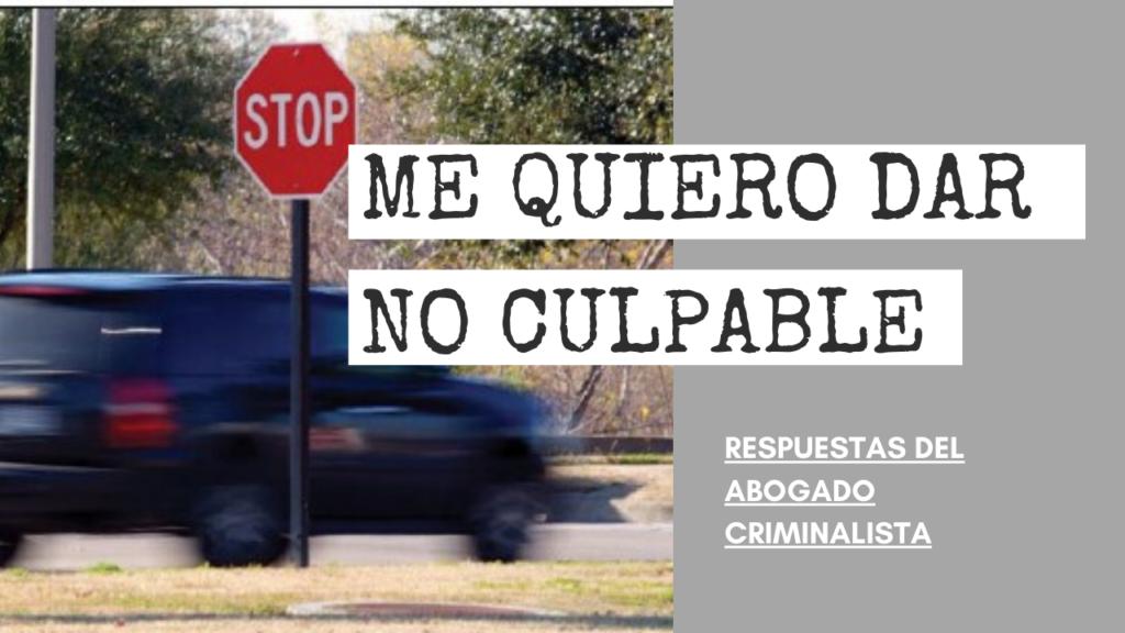 NO CULPABLE