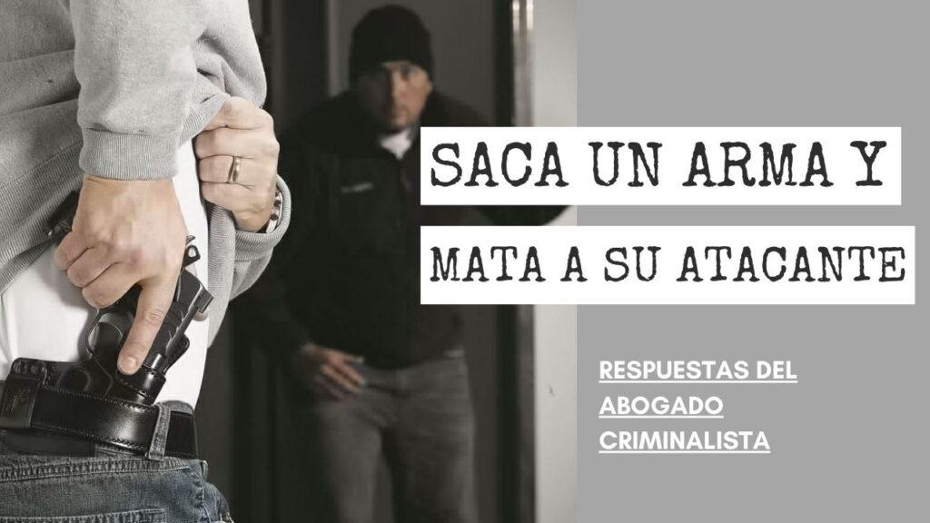 SACA UN ARMA Y MATA
