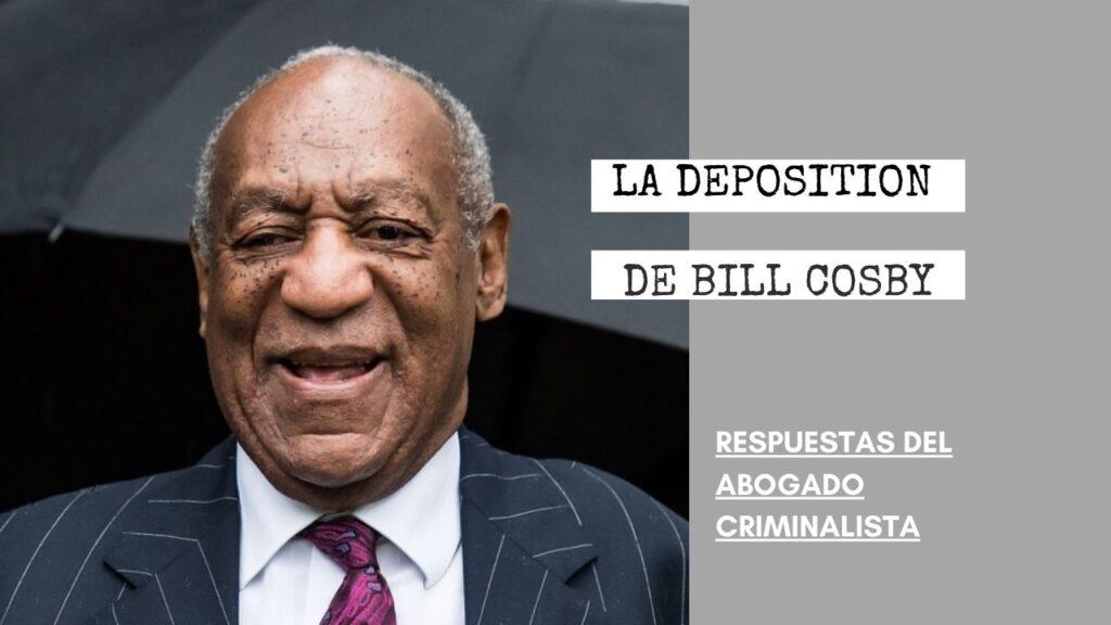 ¿COMETIERON UN FALLO LOS FISCALES CON LA DEPOSITION DE BILL COSBY?